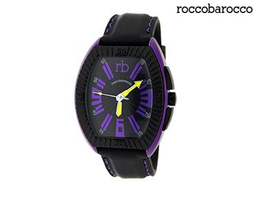 Relógios Rocobarroco® | Ultralight Preto e Roxo