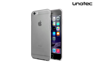 Capa Gel Transparente Unotec | iPhone 6/6S