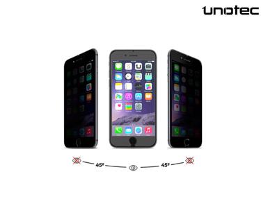 Pelicula de Cristal Protecção Privacidade Unotec | iPhone 6/6S