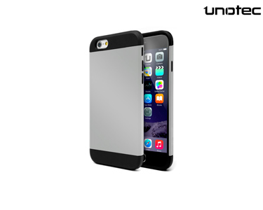 Capa  Armor Plus Unotec | iPhone 6 Plus Cinzento