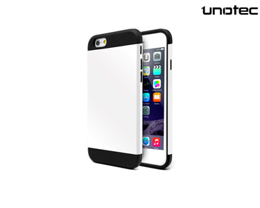 Capa  Armor Plus Unotec | iPhone 6 Plus Branca