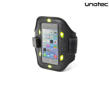 Bracelete Desportiva LED Unotec | iPhone 5/5S/SE