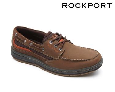 Sapatos Casuais Eye Boat Rockport® | Castanho