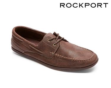 Sapatos de Vela Bennett Rockport® | Castanho