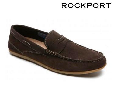 Sapatos Casuais Eye Boat Rockport® | Castanho Escuro