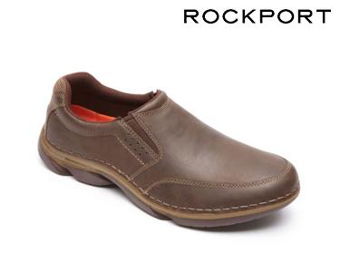 Sapatos Casuais Slip On Rockport® | Castanho
