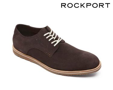 Sapatos Casuais Jazz Rockport®   Castanho Escuro