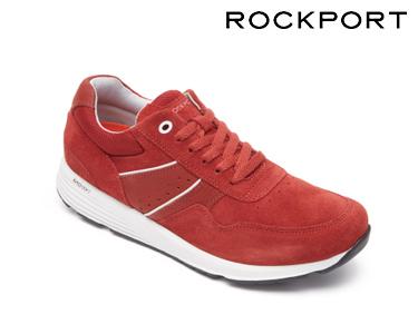 Ténis Lace Up Rockport®   Vermelho