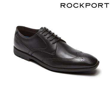 Sapatos Clássicos WingTip Rockport® | Preto