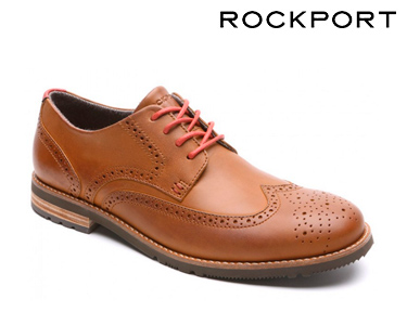 Sapatos Clássicos Rockport® Ledge Hill 2 | Caramelo