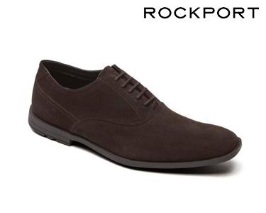 Sapatos Casuais Plain Toe Rockport® | Castanho Escuro