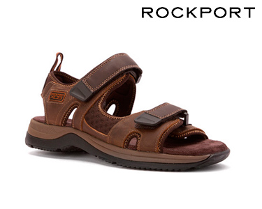 Sandálias Athletic & Outdoor Rockport® | Castanho Escuro