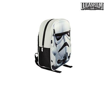 Mochila Escolar 3D Stars Wars   Stormtrooper