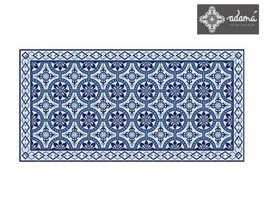 Tapete em Vinil Flora Blu | Escolha o Tamanho
