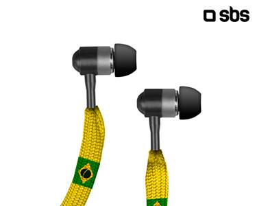 Auriculares Stereo Carioca | Microfone e Botão de Atender Chamadas