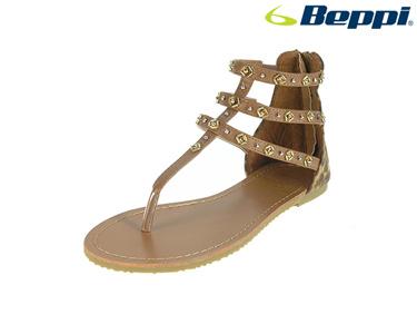Sandálias Casuais com Três Tiras Beppi®   Castanho