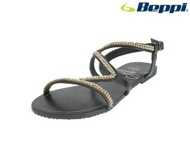 Sandálias Casuais com Fivela Beppi® | Preto