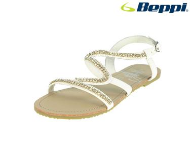 Sandálias Casuais com Fivela Beppi® | Branco