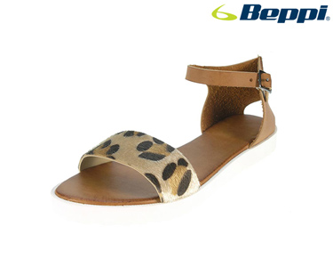 Sandálias Casuais Beppi® | Padrão Leopardo