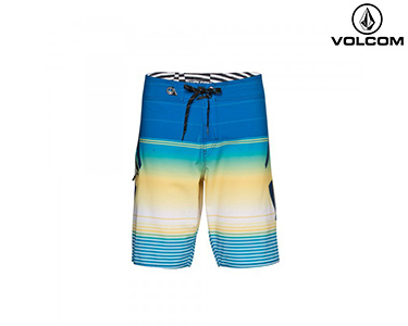 Calções de Banho Volcom® Stoney Mod | Azul Indigo