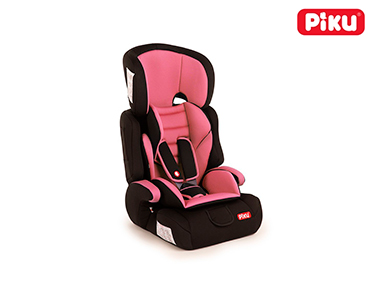 Cadeira Auto Piku®   Grupo 1/2/3 Rosa