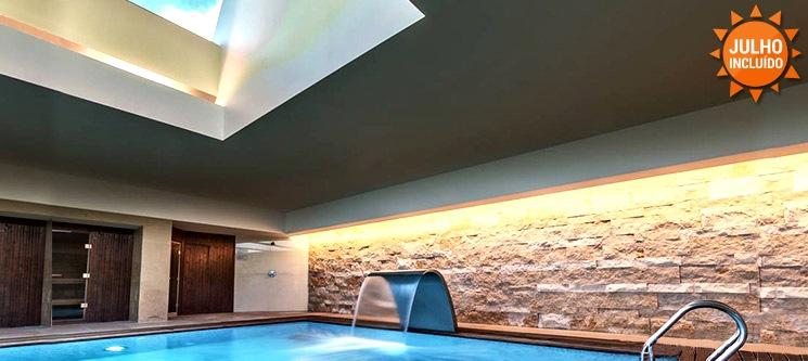 Merecido descanso num Hotel & Spa 4* » 1 ou 2 Noites + Peq. Almoço + Acesso livre ao Spa