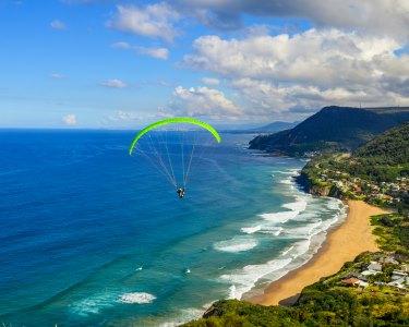 De Sonho! Voo de Parapente sob as Praias e Arrábida | Flytime