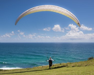 Fly Time: Workshop de Voo em Parapente | 3 Horas | Local à Escolha