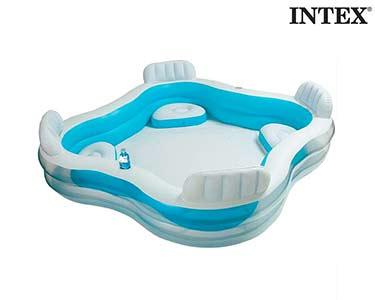 Piscina Insuflável Familiar c/ Assentos Intex®