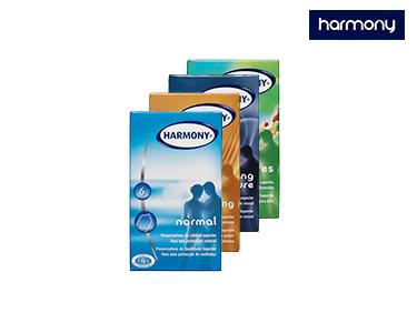 Conjunto Preservativos e Gel Lubrificante Harmony®