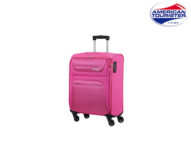 Mala American Tourister® Spring Hill Spinner Rosa | Cabine Size