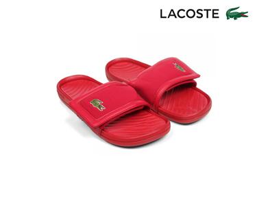 Chinelos Lacoste® Fynton Homem | Vermelho