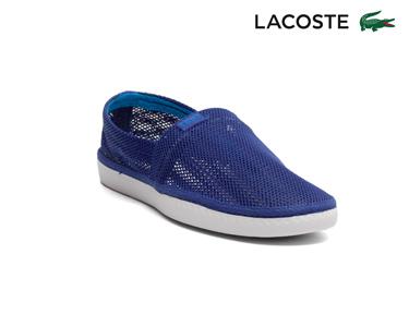 Alpargatas Lacoste® Sundaze Homem | Azul