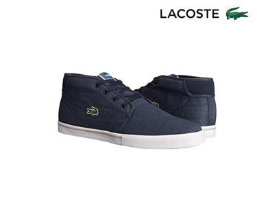 Ténis Bota Lacoste® Ampthill | Azul Escuro