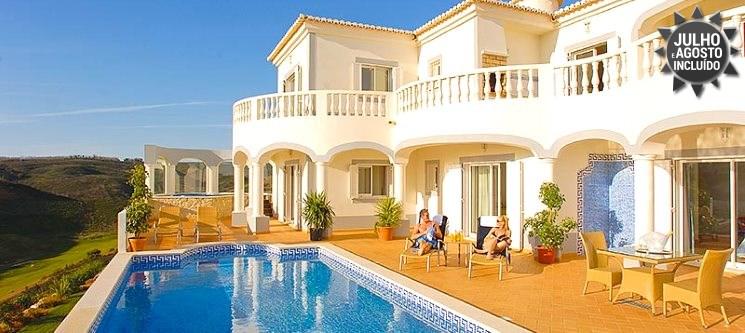 Férias no Algarve em Villas c/ Piscina Privada para 6 ou 8 Pessoas | Quinta da Floresta 4*