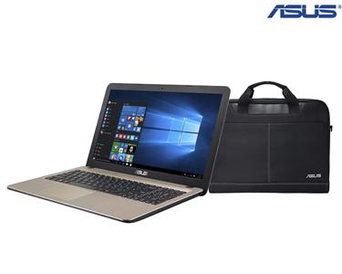 Portátil Asus® 15.6 Quad-Core 500GB + Mala