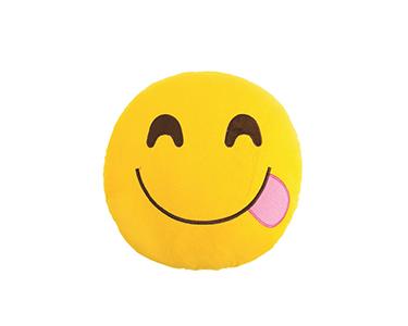 Almofada Emoji Cheeky