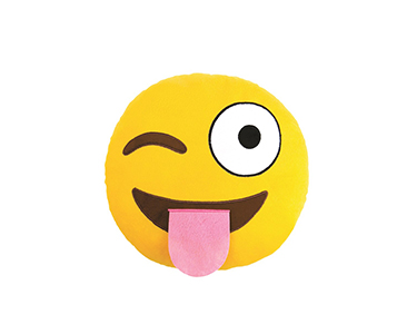 Almofada Emoji  Flirty