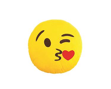 Almofada Emoji Kiss