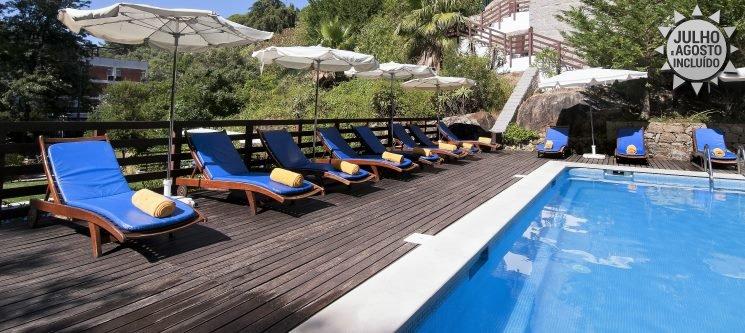 Algarve! 3 a 7 Noites em Meia-Pensão + Circuito Termal | Villa Termal das Caldas de Monchique 4*