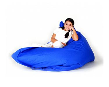 Puff Impermeável XXL Azul | 140x180 cm