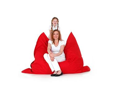 Puff Impermeável XXL Vermelho | 140x180 cm