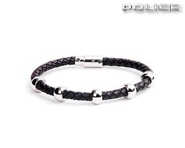 Pulseira Police® Global   Preta