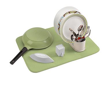 Escorredor de Pratos Microfibra | Verde
