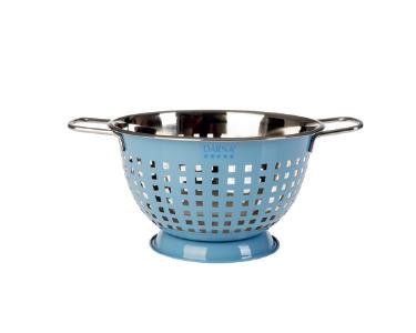 Coador em Aço Inoxidável Esmaltado | Azul