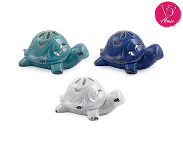 Conjunto de 3 Suportes p/ Velas | Tartaruga