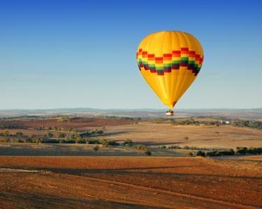 Voo de Balão em Coruche