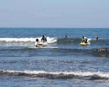 Baptismo de Surf a Dois na Ericeira