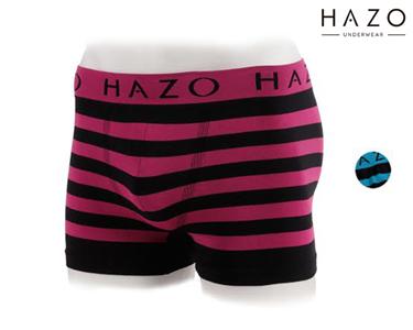 Pack 6 Boxers Hazo® | Preto Rosa e Preto Turquesa