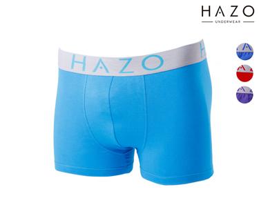 Pack 6 ou 12 Boxers Hazo® | Royal, Turquesa,  Roxo e Vermelho